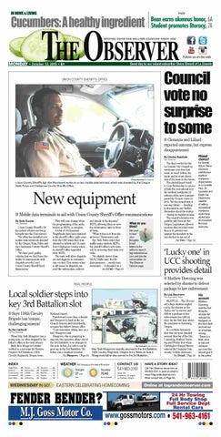 The Observer 10-12-15 by NorthEast Oregon News - issuu
