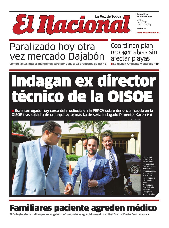 Impreso12 10 15 by Periodico El Nacional - issuu