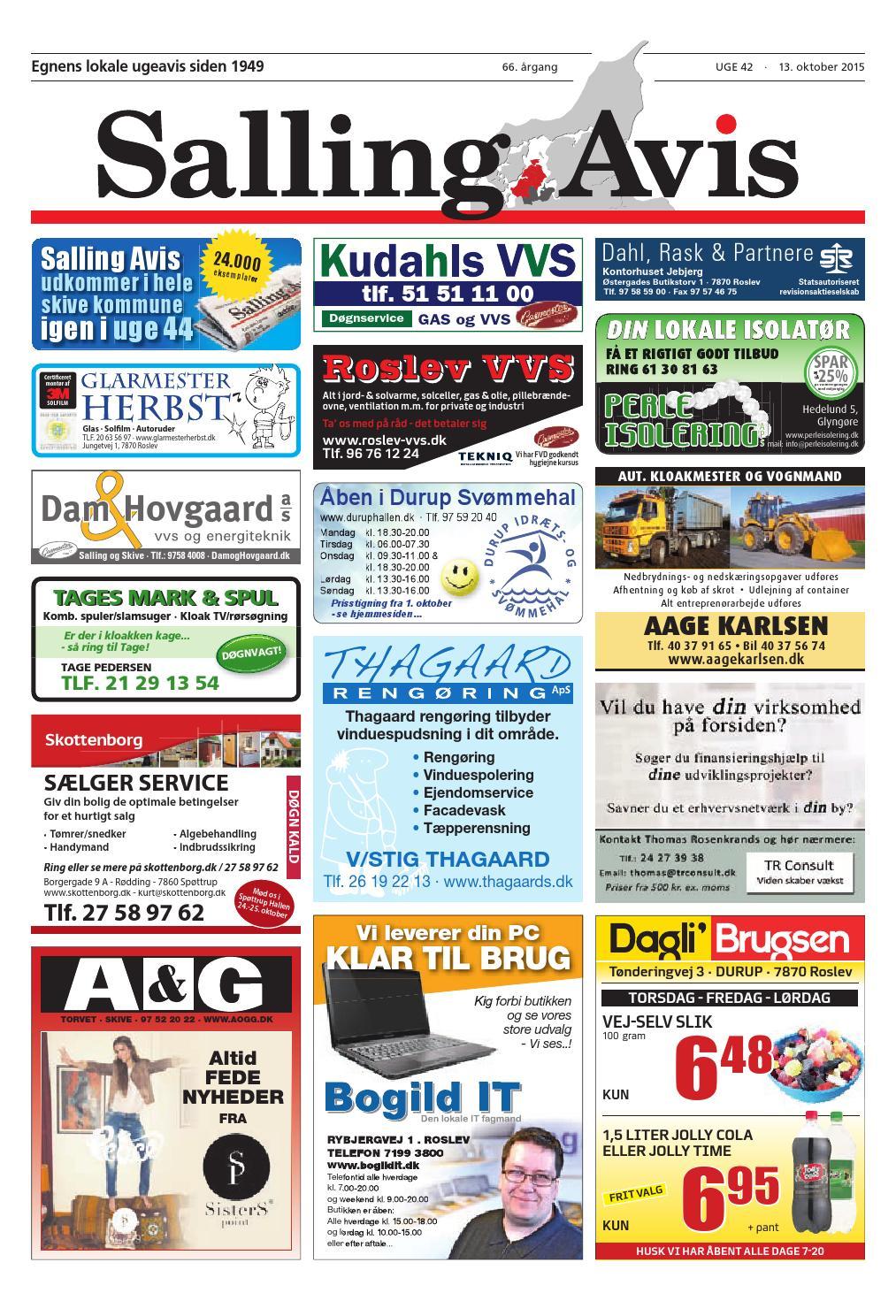 98815dc5 Salling Avis 42-2015 by Salling Avis - issuu