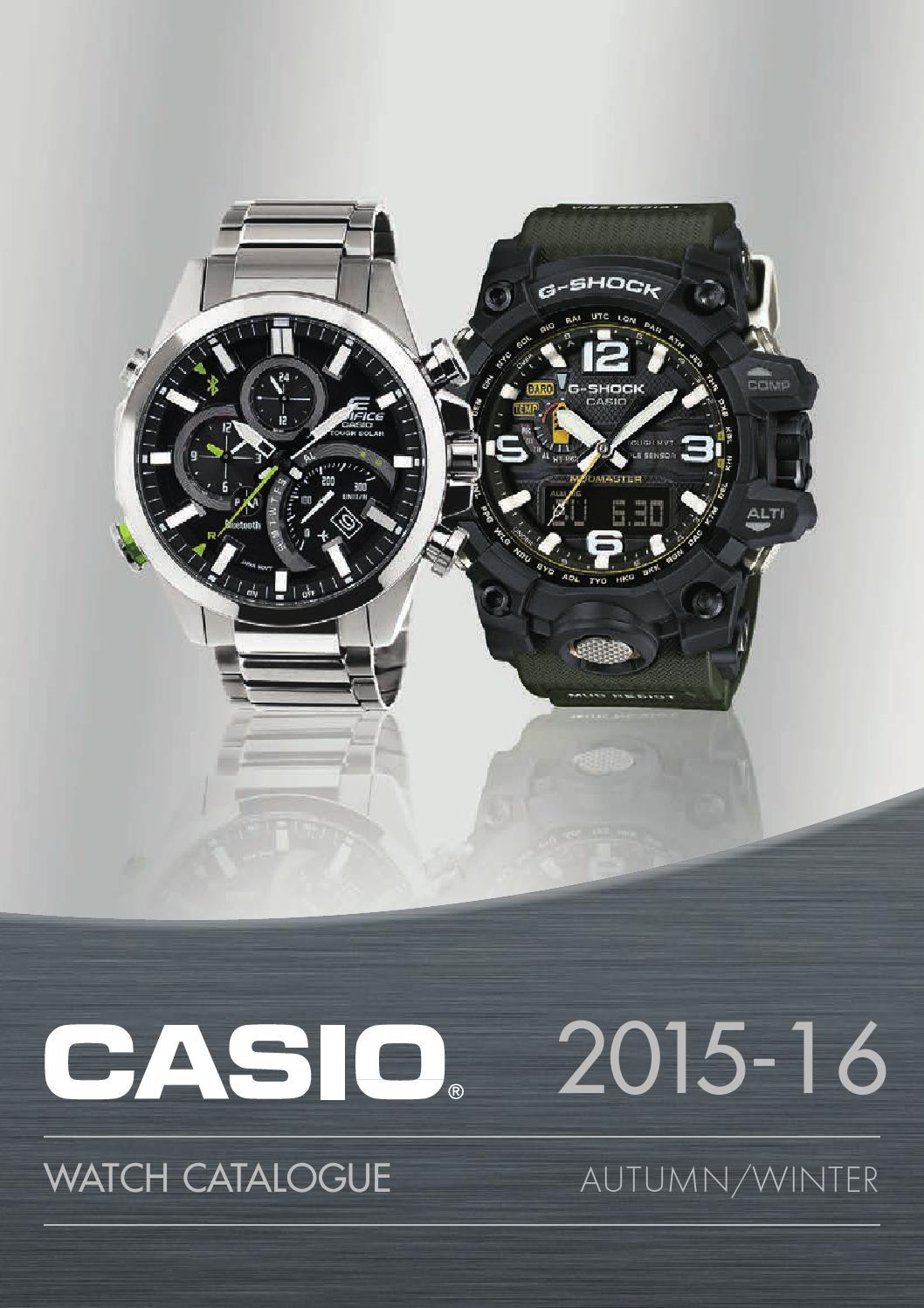 Casio Klokkekatalog 2015 2016 Norge By Scandinavia Issuu G Shock Gd X6900ht 2 Resin Band Watch Blue