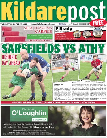 Kildare post 13 10 15 by River Media Newspapers - issuu 06cd166135f72