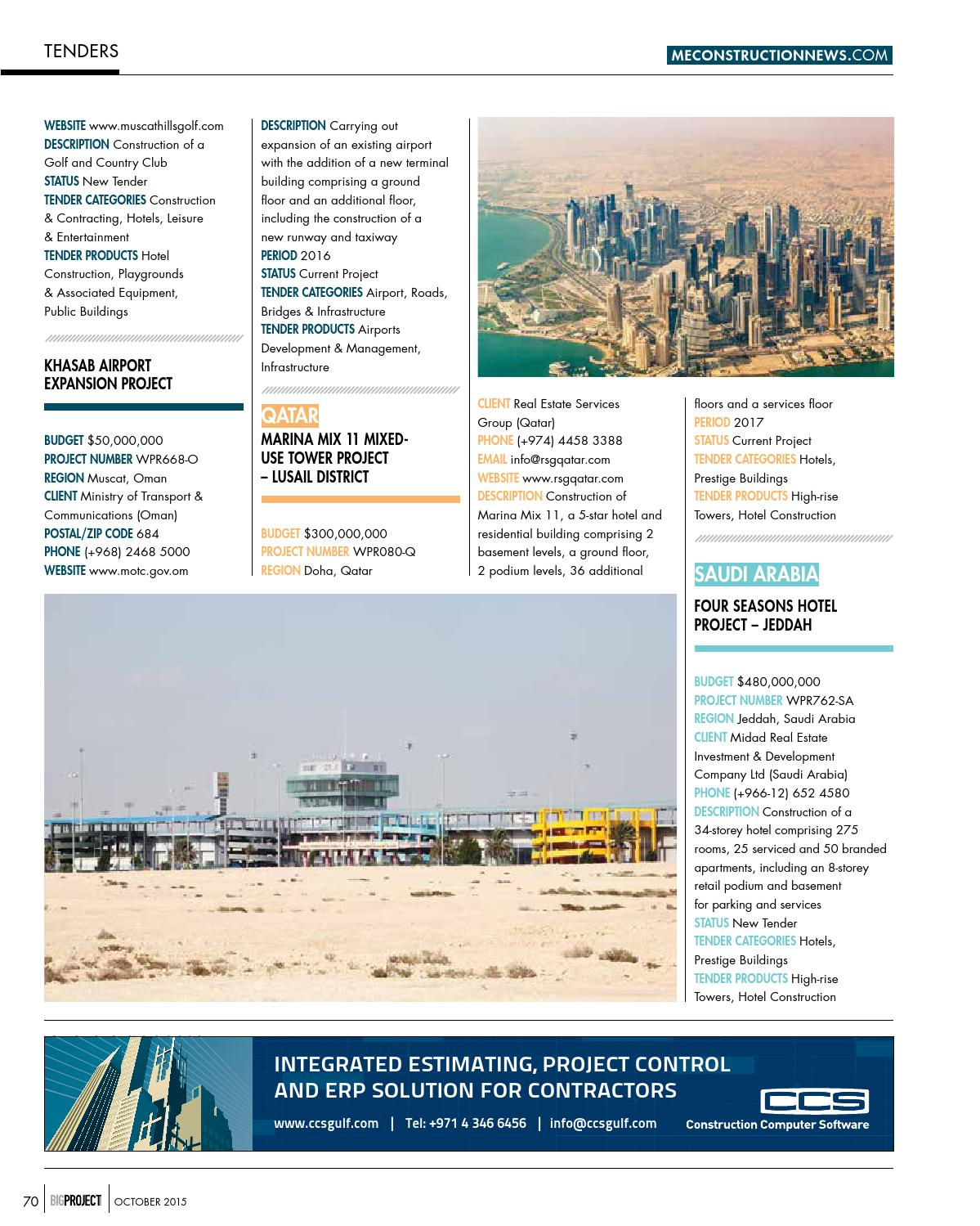 Big Project ME October 2015 by Big Project Middle East - issuu