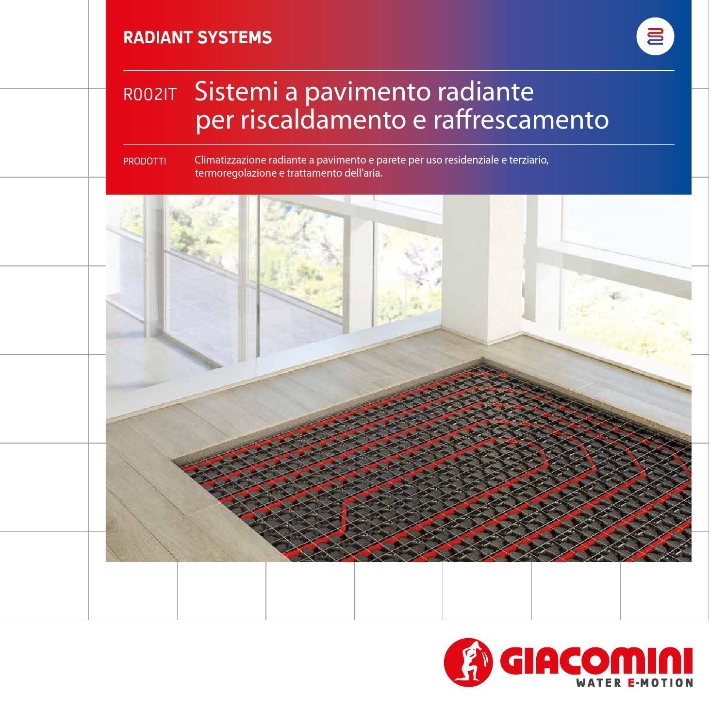 Massetto Per Pavimento Riscaldato sistemi a pavimento radiante - folder italiano by giacomini