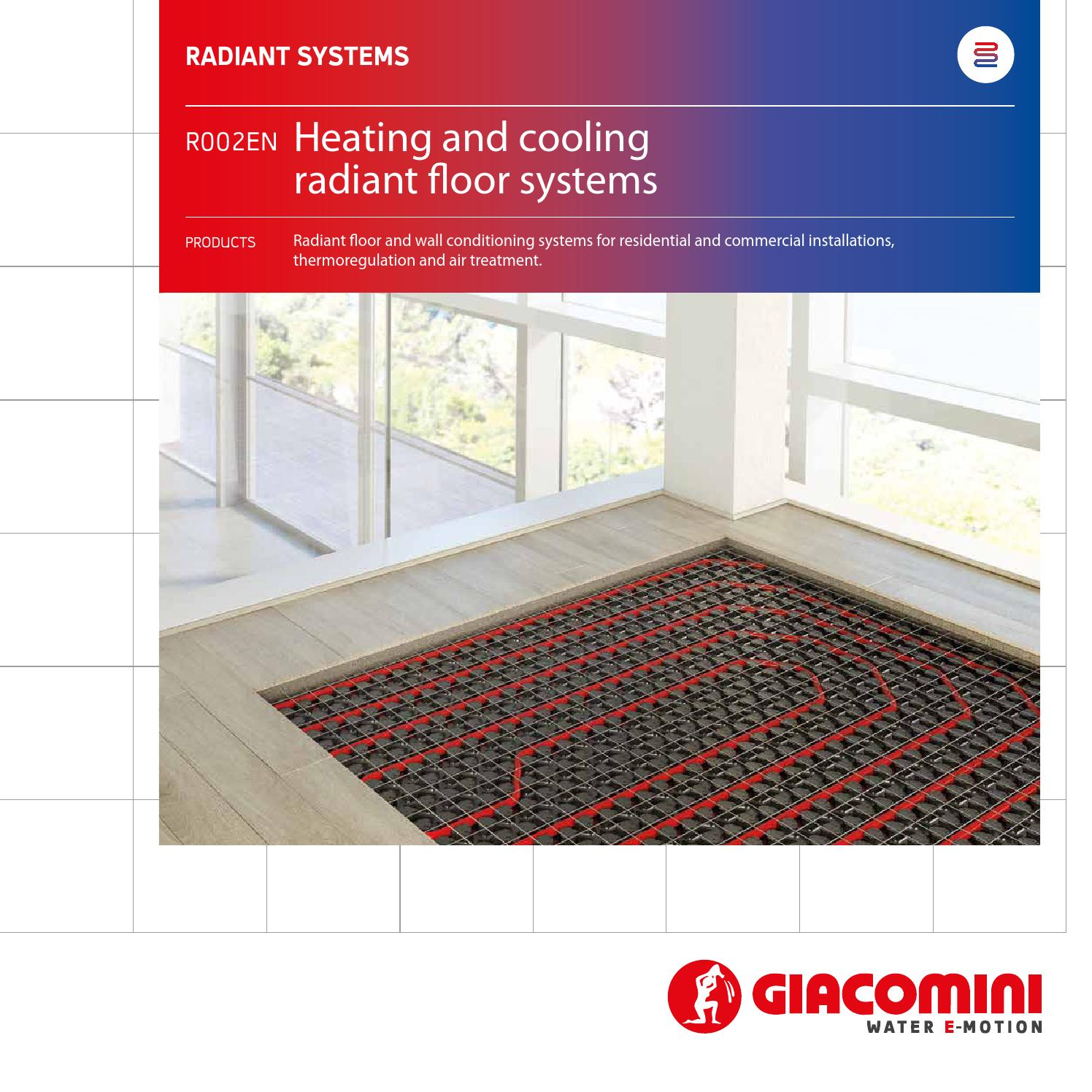 tarp radiant used floor pin a insul in heat application insulation system