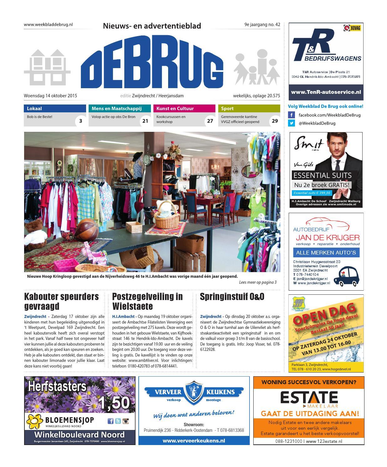 ed24ec89612 Weekblad De Brug - week 42 2015 (editie Zwijndrecht) by Uitgeverij De Brug  - issuu