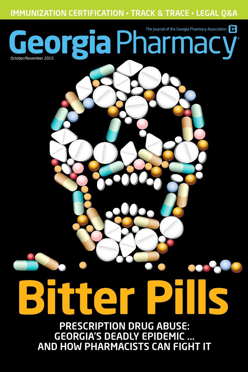 2015 10 Georgia Pharmacy Magazine By Georgia Pharmacy Association