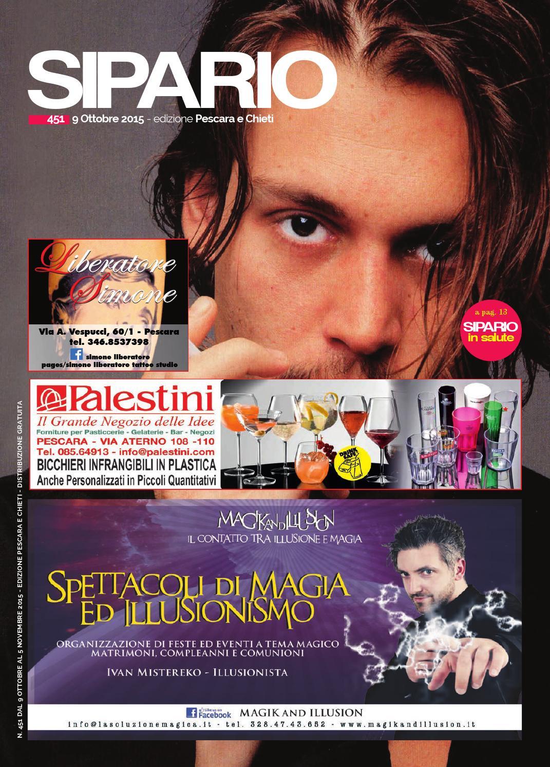 Sipario Pescara Chieti ottobre 2015 by Publipress srl - issuu 85f27424d18b