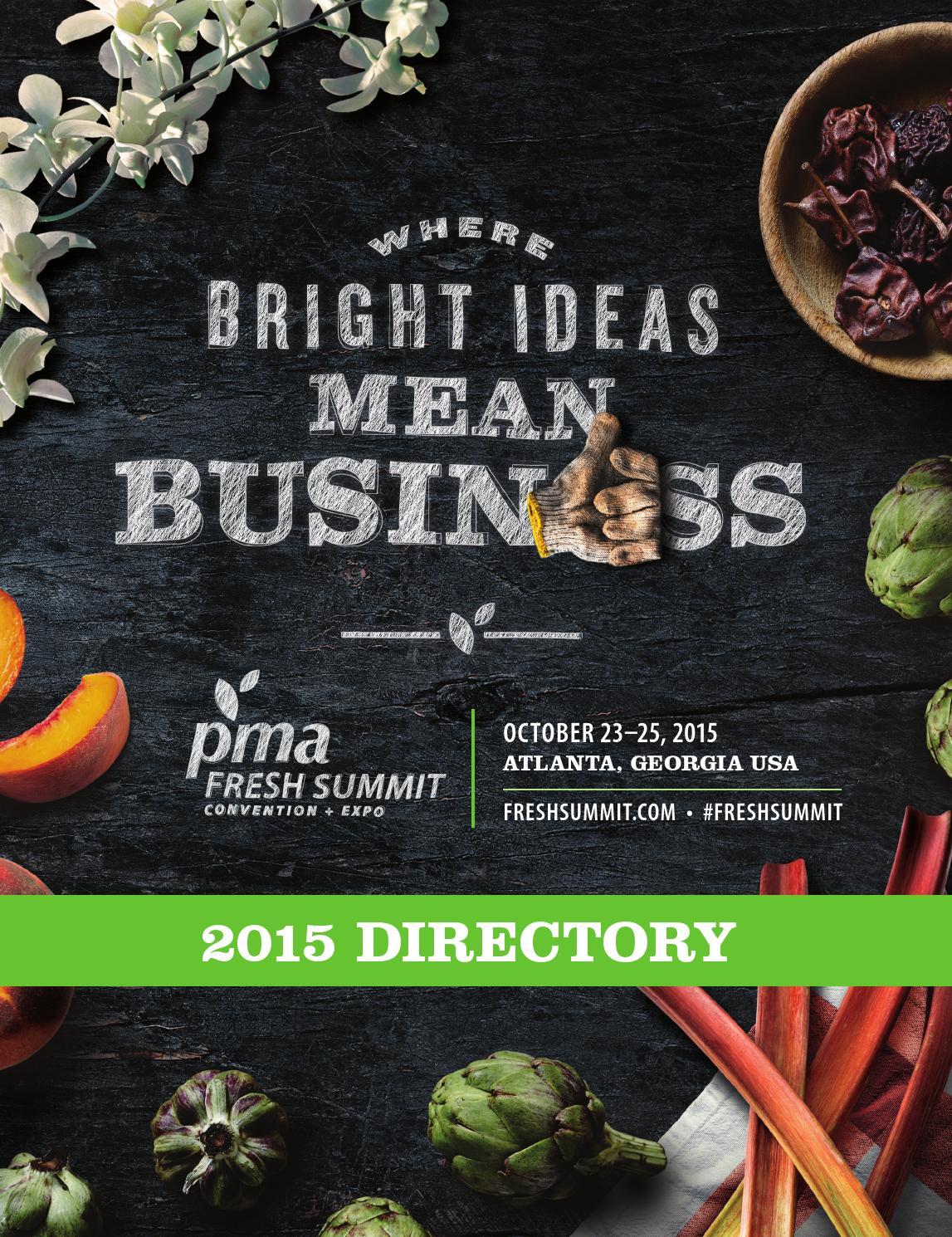 Fresh Summit Directory 2015 By Produce Marketing Association Issuu Vintage Les Paul Wiring Harness