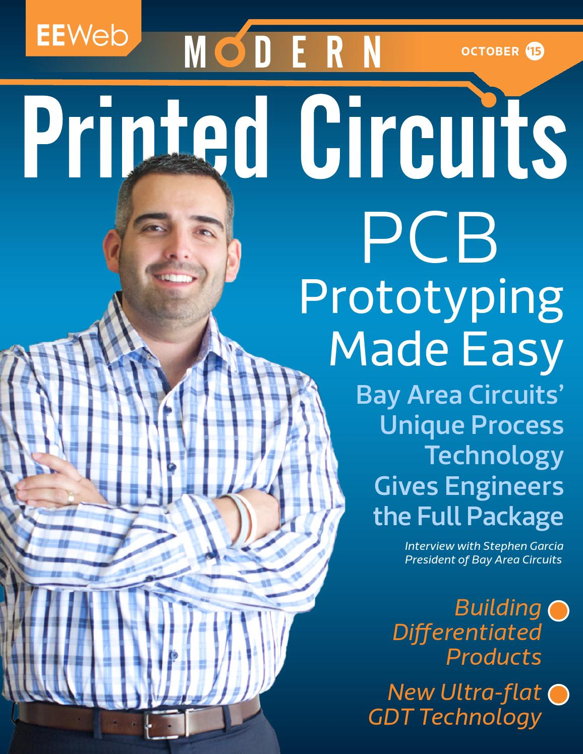 Modern Printed Circuits October 2015 By Eeweb Magazines Issuu Know More About Voltage Divider Community