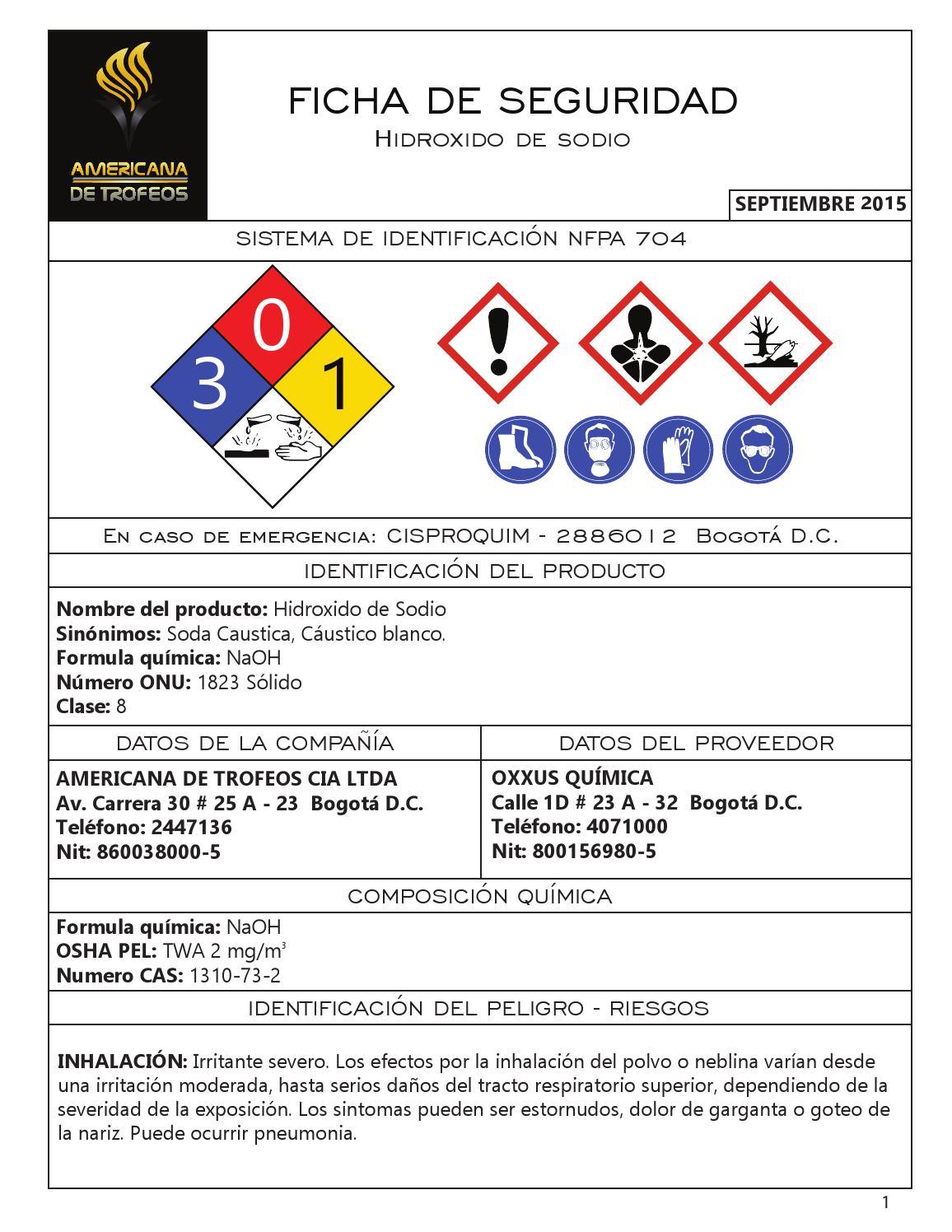 hidroxido de sodio by americana de trofeos issuu