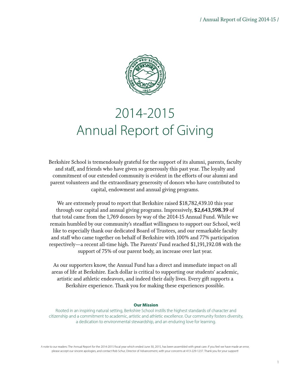 Uncategorized Set Builder Notation Worksheet annual report of giving 2014 2015 by berkshire school issuu