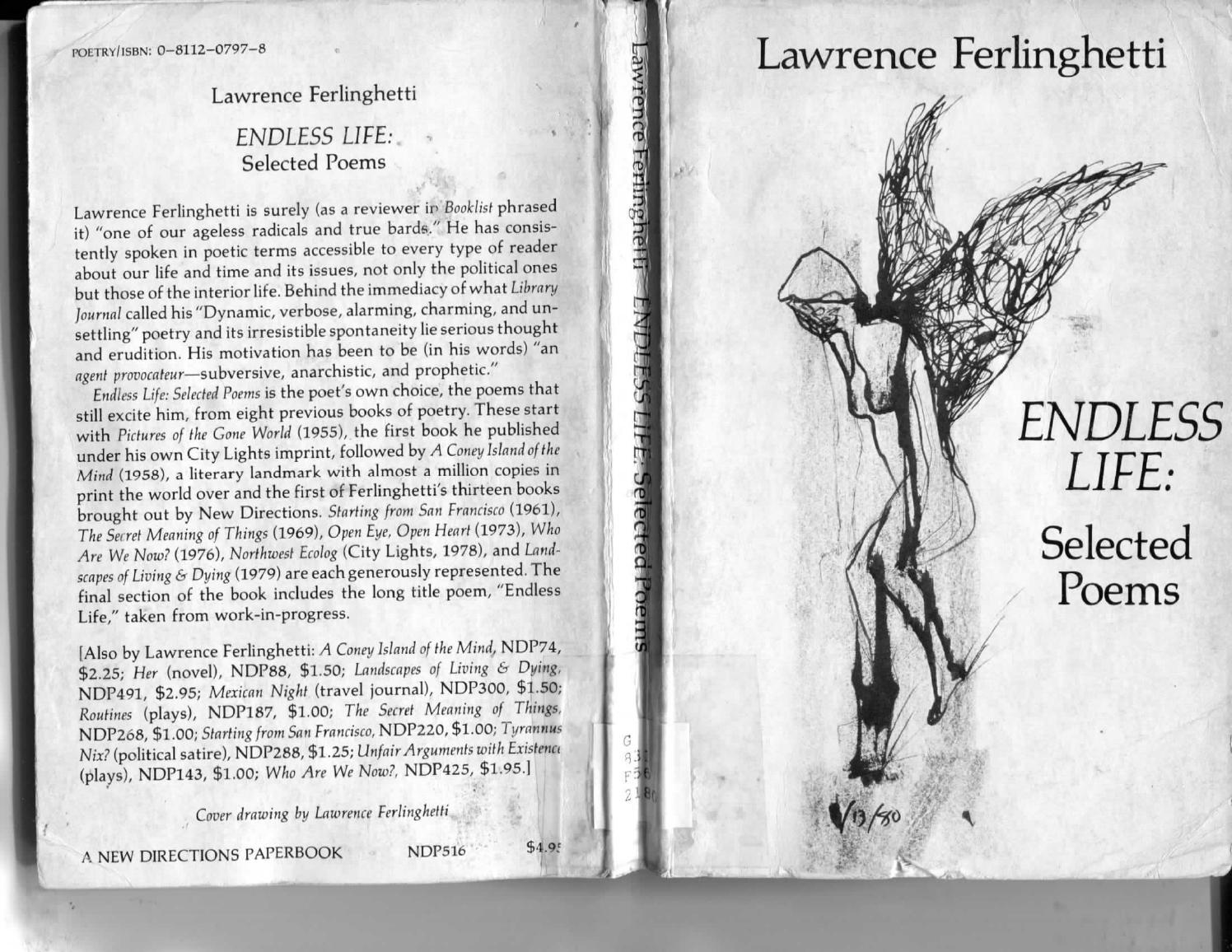 Lawrence Ferlinghetti - Endless Life: Selected Poems by lalohidalgo - issuu