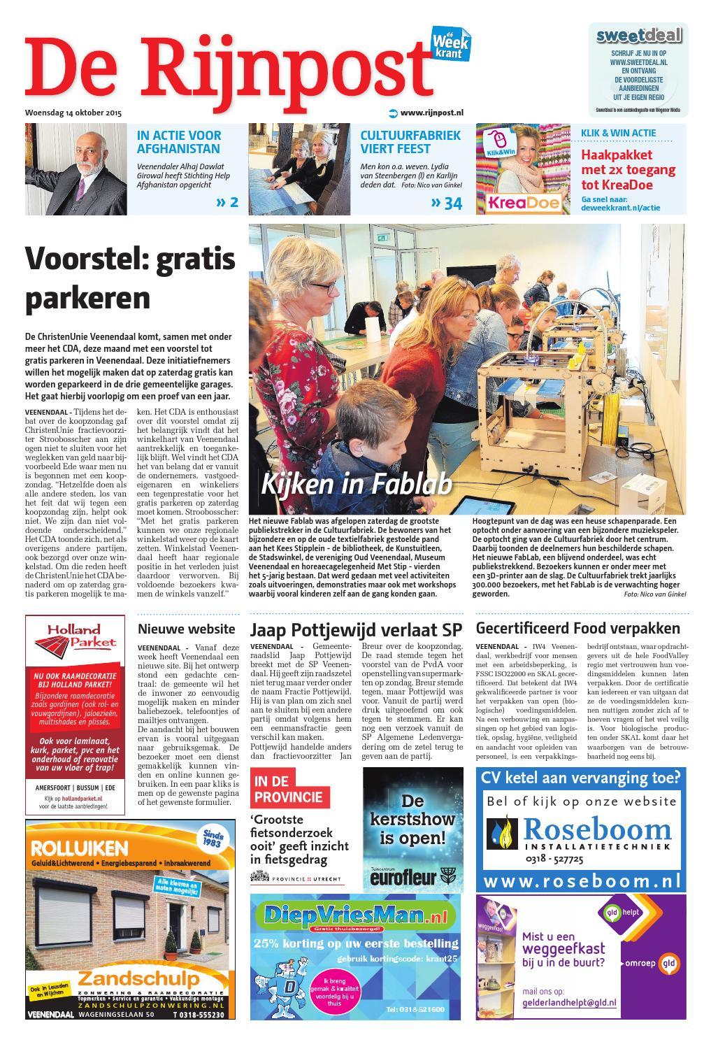 de rijnpost week42 by wegener issuu