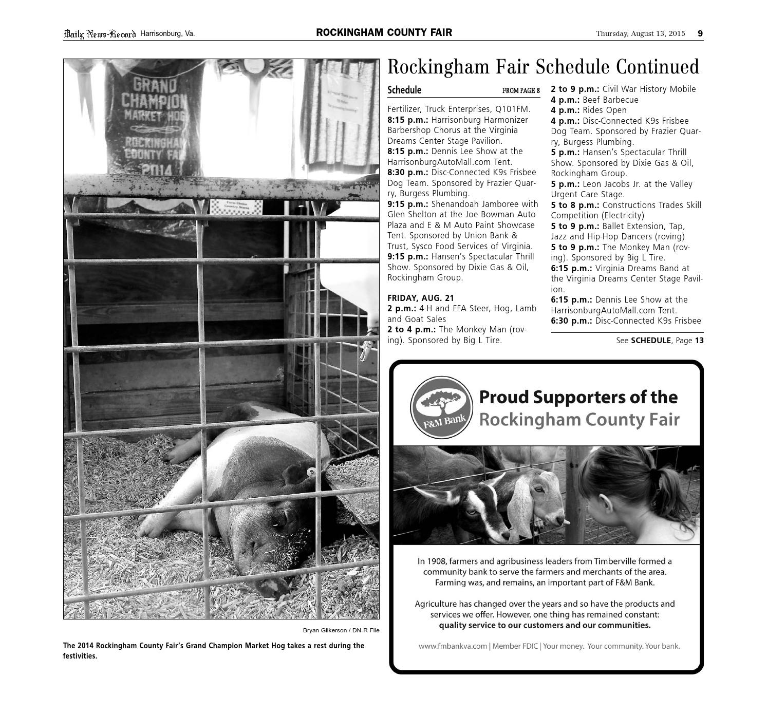Rockingham County Fair By Daily News-Record