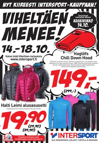 Intersport Viheltäen Menee 14.-18.10. by Intersport Finland - issuu 332eb3d1a3