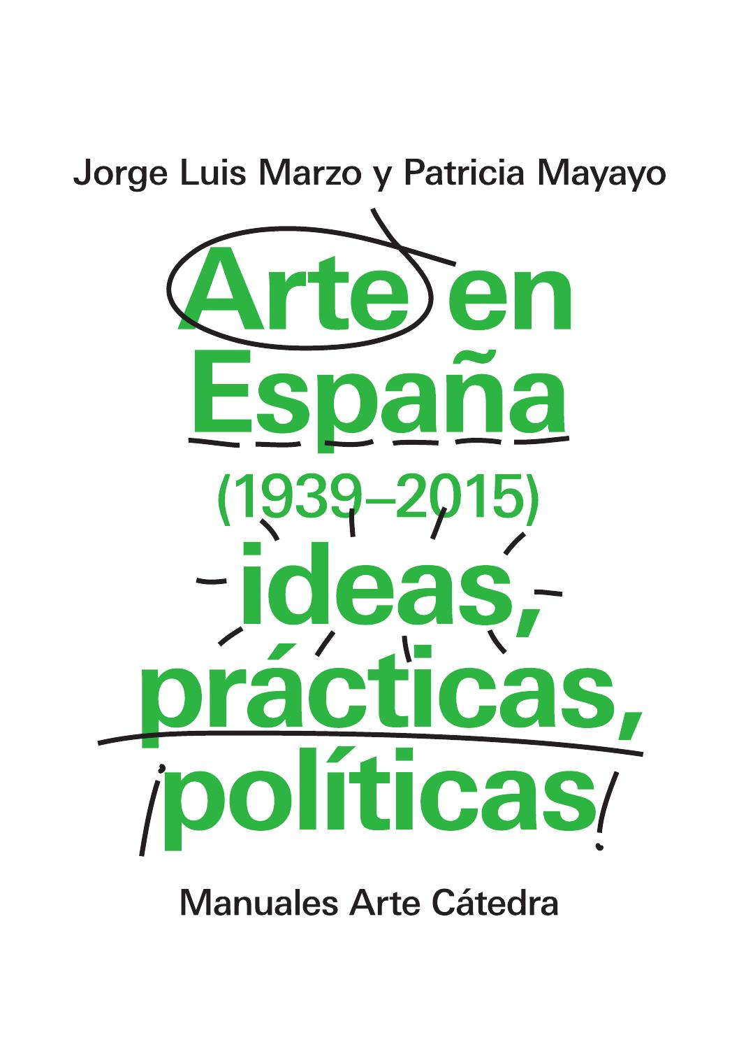 Folleto Arte en España (1939-2015) ideas, prácticas, políticas by ...