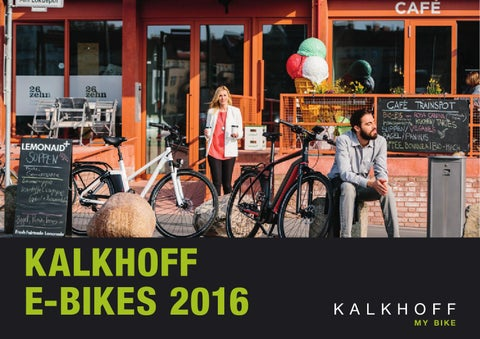 fb1f3443a09 Kalkhoff E-Bikes 2016_e by Derby Cycle - issuu