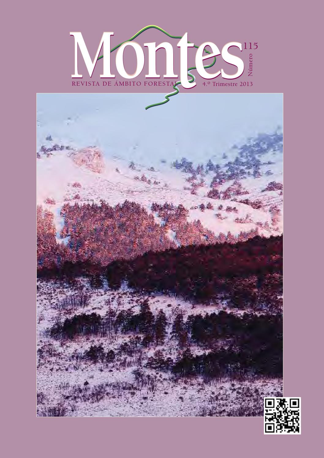 Montes, Revista de ámbito forestal. Número 115, IV trimestre 2013 by ...