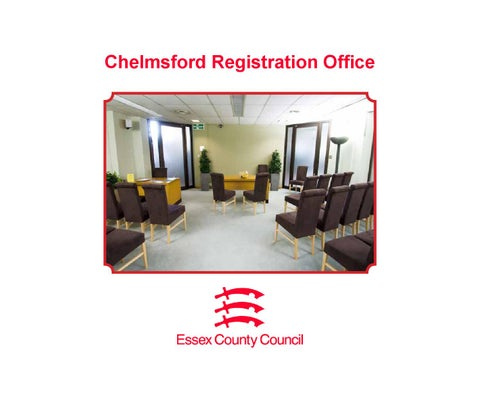 Chelmsford Registration Office