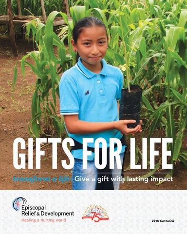 GIFTS FOR LIFE transform a life: Give a gift with lasting impact