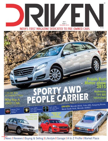 Driven magazine - october issue by DRIVEN - issuu