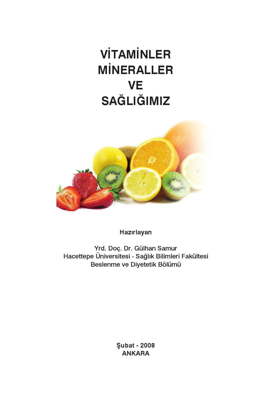 D Vitaminin Vücuttaki Fonksiyonları ve Gereksinim Düzeyleri