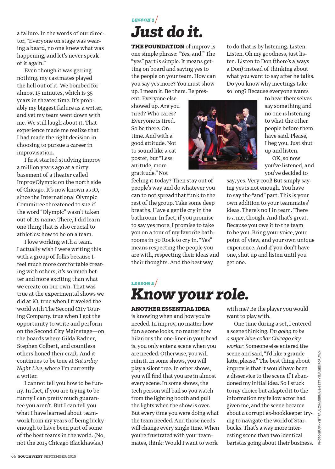 September 2015 by Southwest: The Magazine - issuu