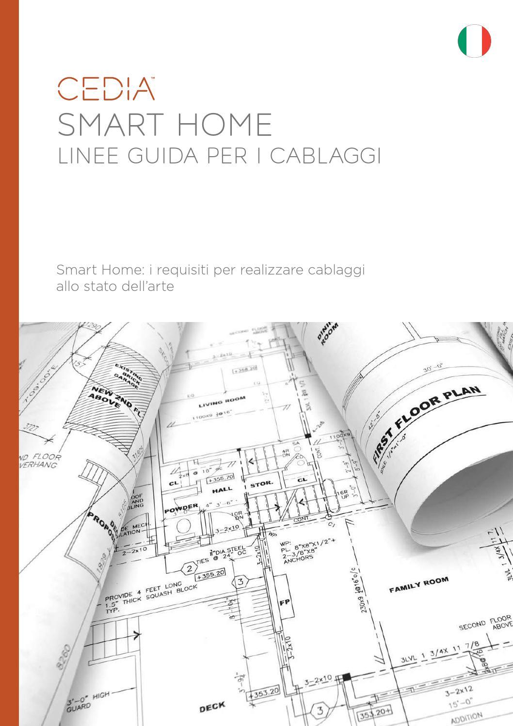 Schema Cablaggio Rete Lan : Smart home linee guida per i cablaggi by cedia emea issuu