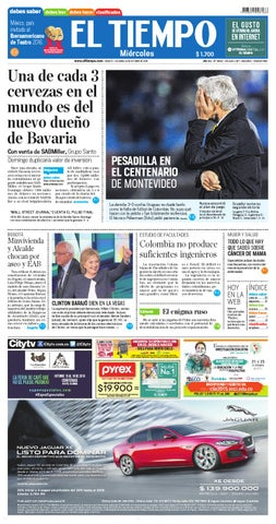 95014ddd67 EL TIEMPO 14/10/2015 by Andres A. - issuu