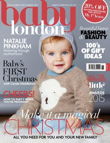 984f5c357e7d82 Baby London November/December 2015 by The Chelsea Magazine Company ...