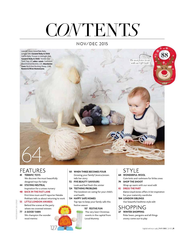 9da0d12874ba Baby London November December 2015 by The Chelsea Magazine Company ...
