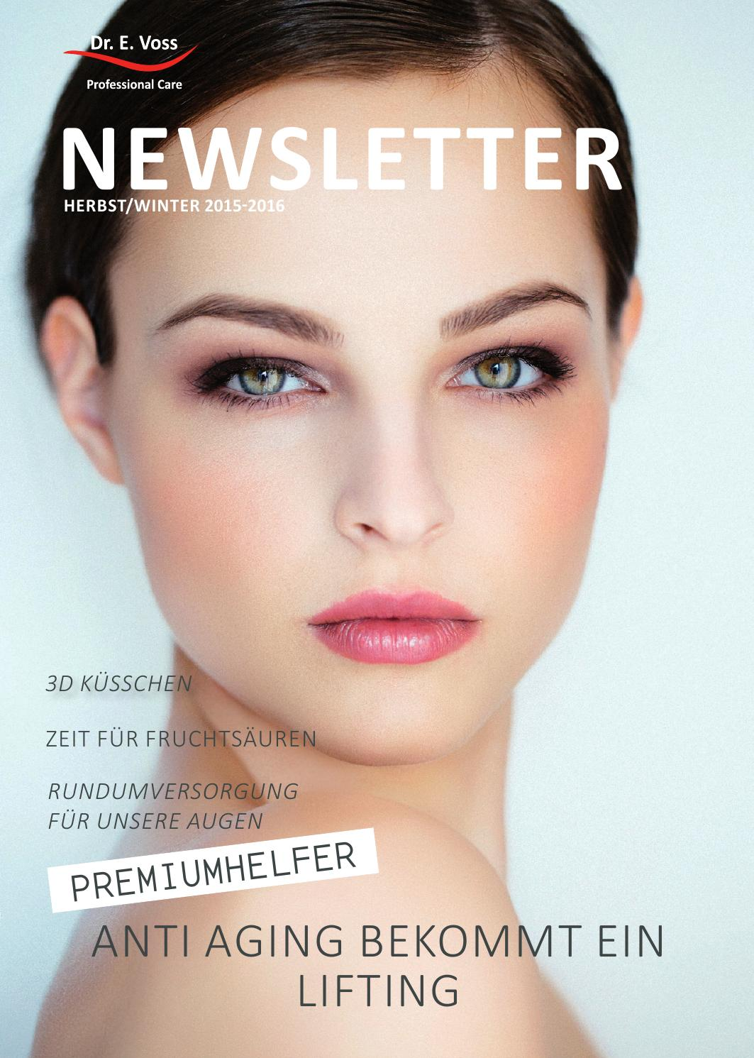 Dr. E. Voss Kosmetik Newsletter Herbst/Winter 2015-2016 by ...