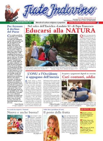 Calendario Frate Indovino 2020 In Edicola.Ottobre By Edizioni Frate Indovino Issuu