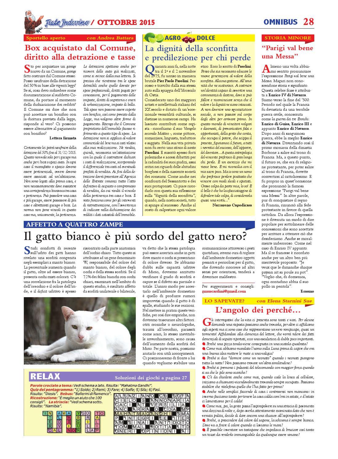 Ottobre By Edizioni Frate Indovino Issuu