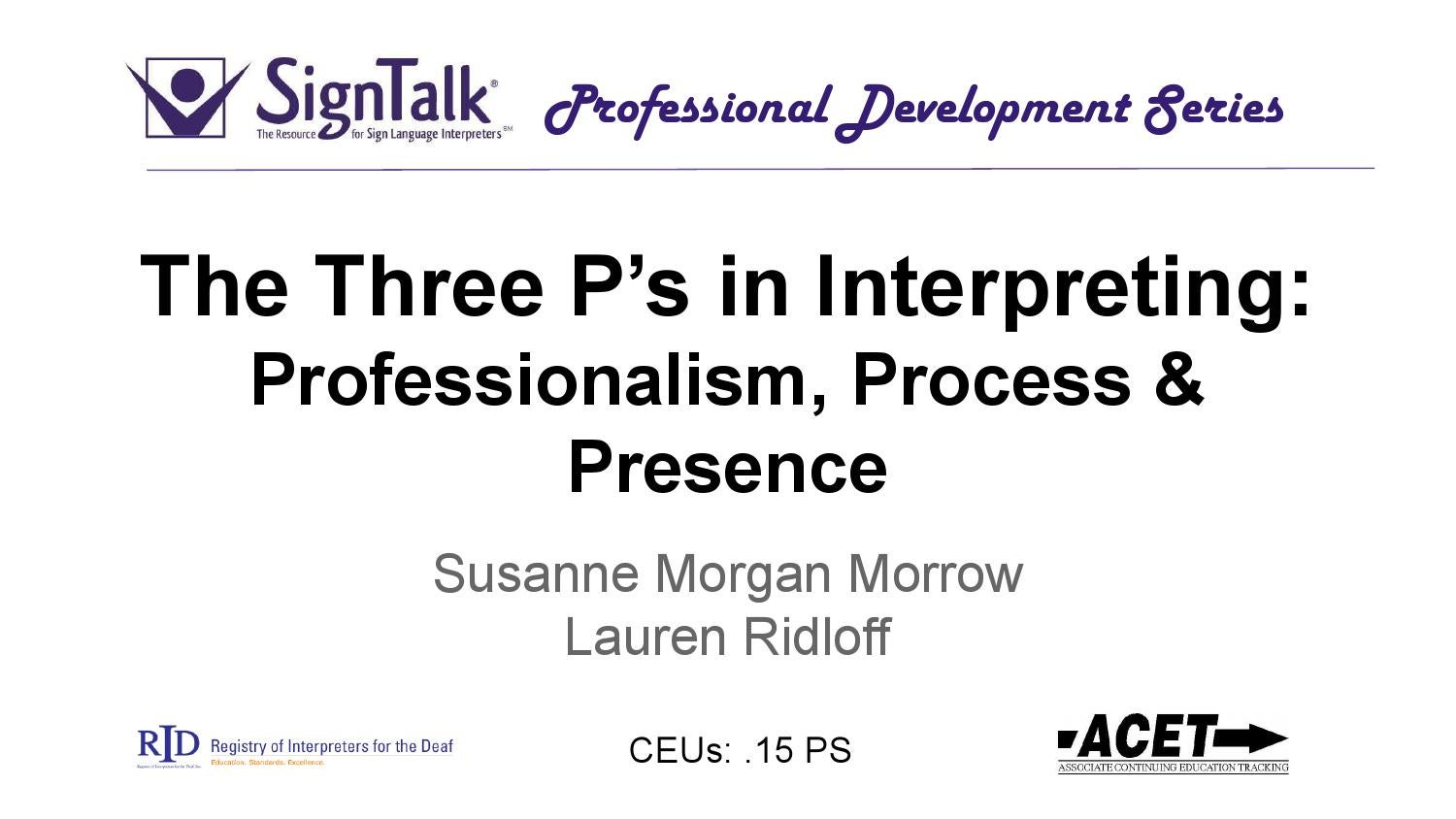 Webinar 1 The Code Of Professional Conduct By Susanne Morrow Issuu