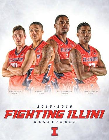 8a5612e92 2015-16 Fighting Illini Men s Basketball Record Book by ...