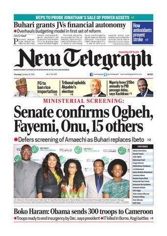 New telegraph thursday, october 15, 2015 binder1 by
