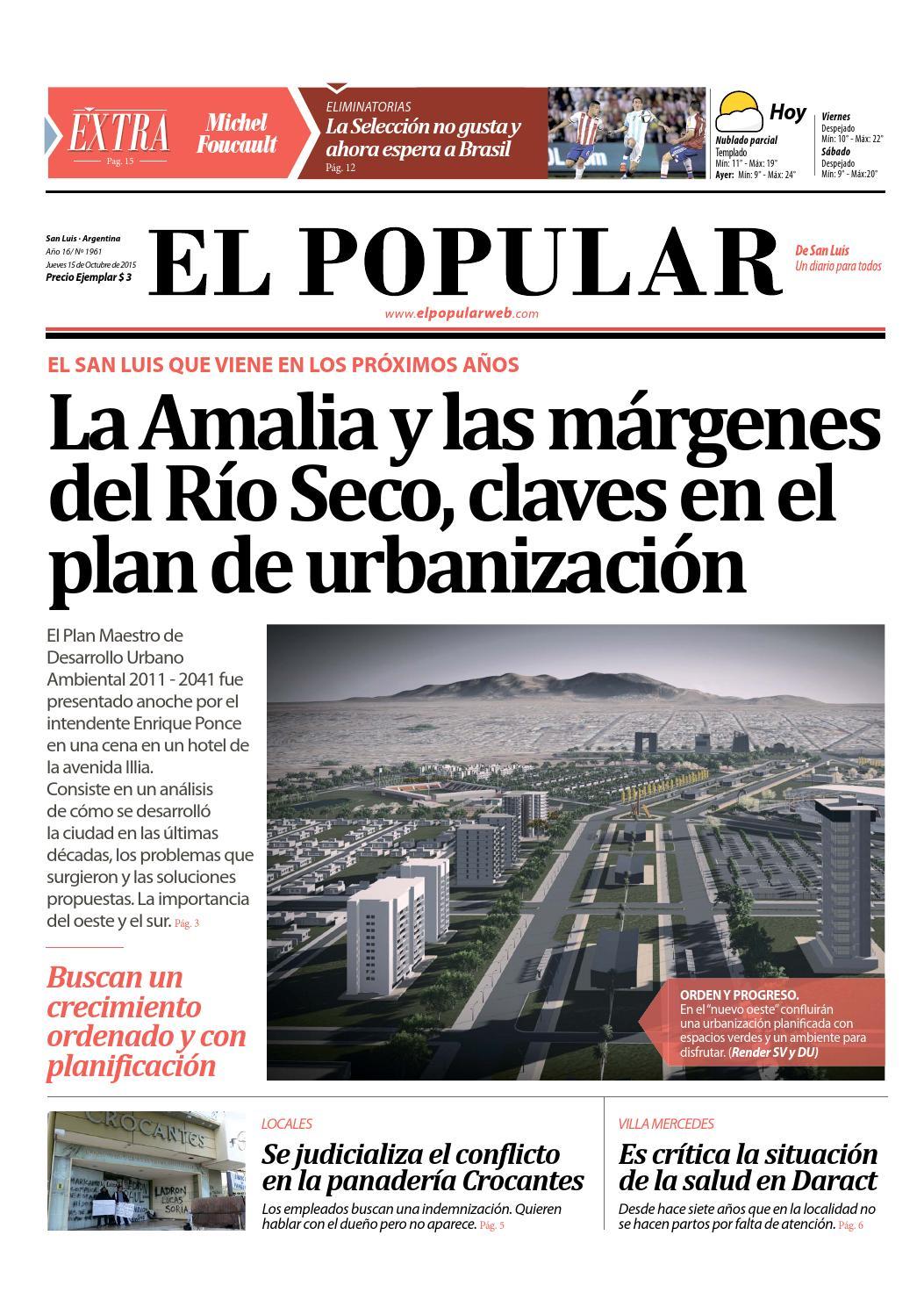 El Popular de San Luis jueves 15 octubre by El Popular de San Luis - issuu 28beea9f063