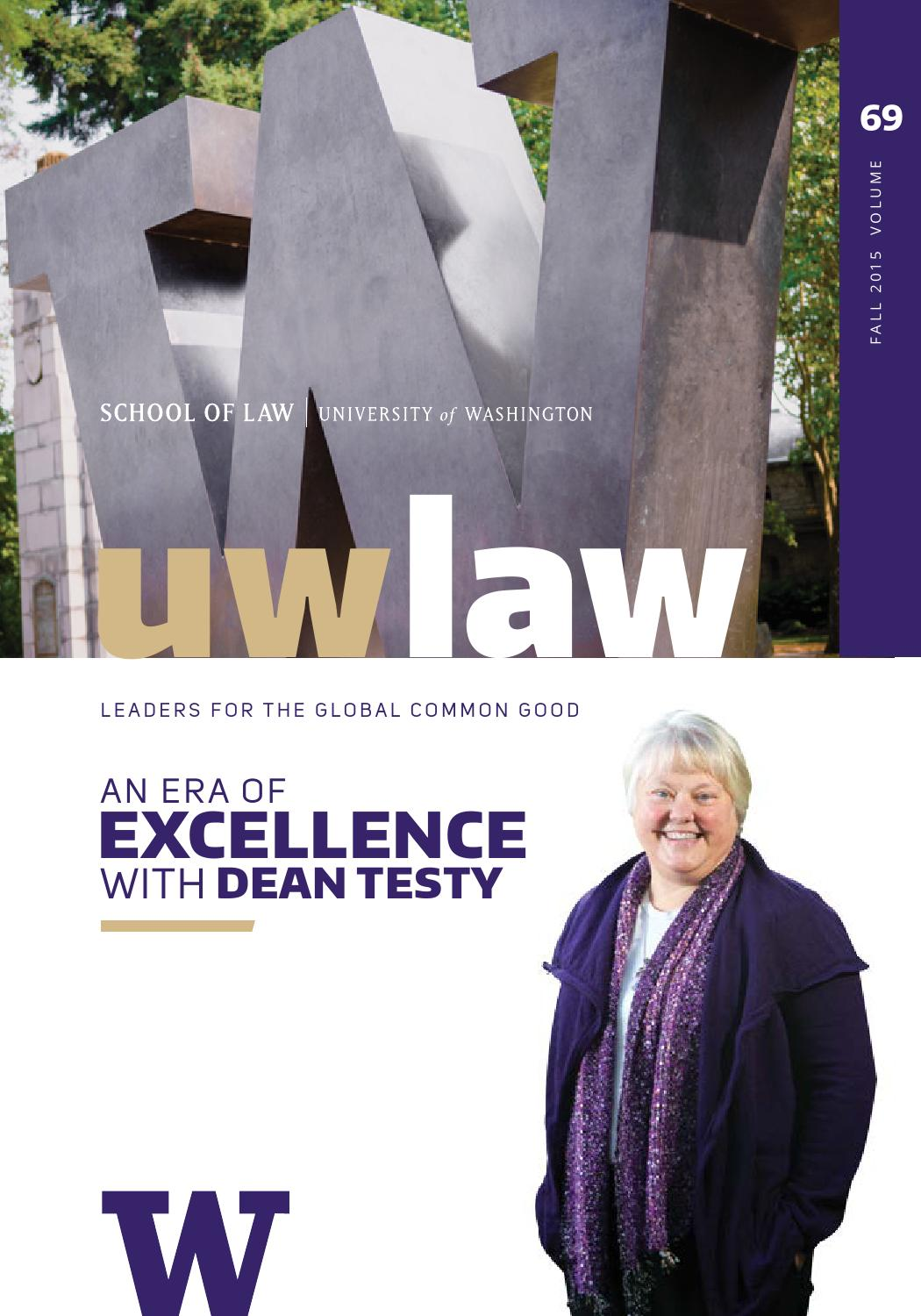 UW Law Fall 2015 by UW of Law - issuu R D Redman Mobile Home on