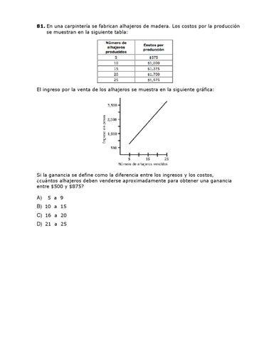 Guía para desarrollar habilidades matemáticas y presentar con éxito ...