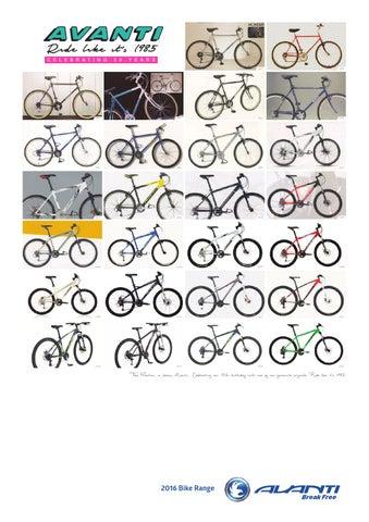 2016 Avanti Dealer Manual by Avanti Bikes - issuu