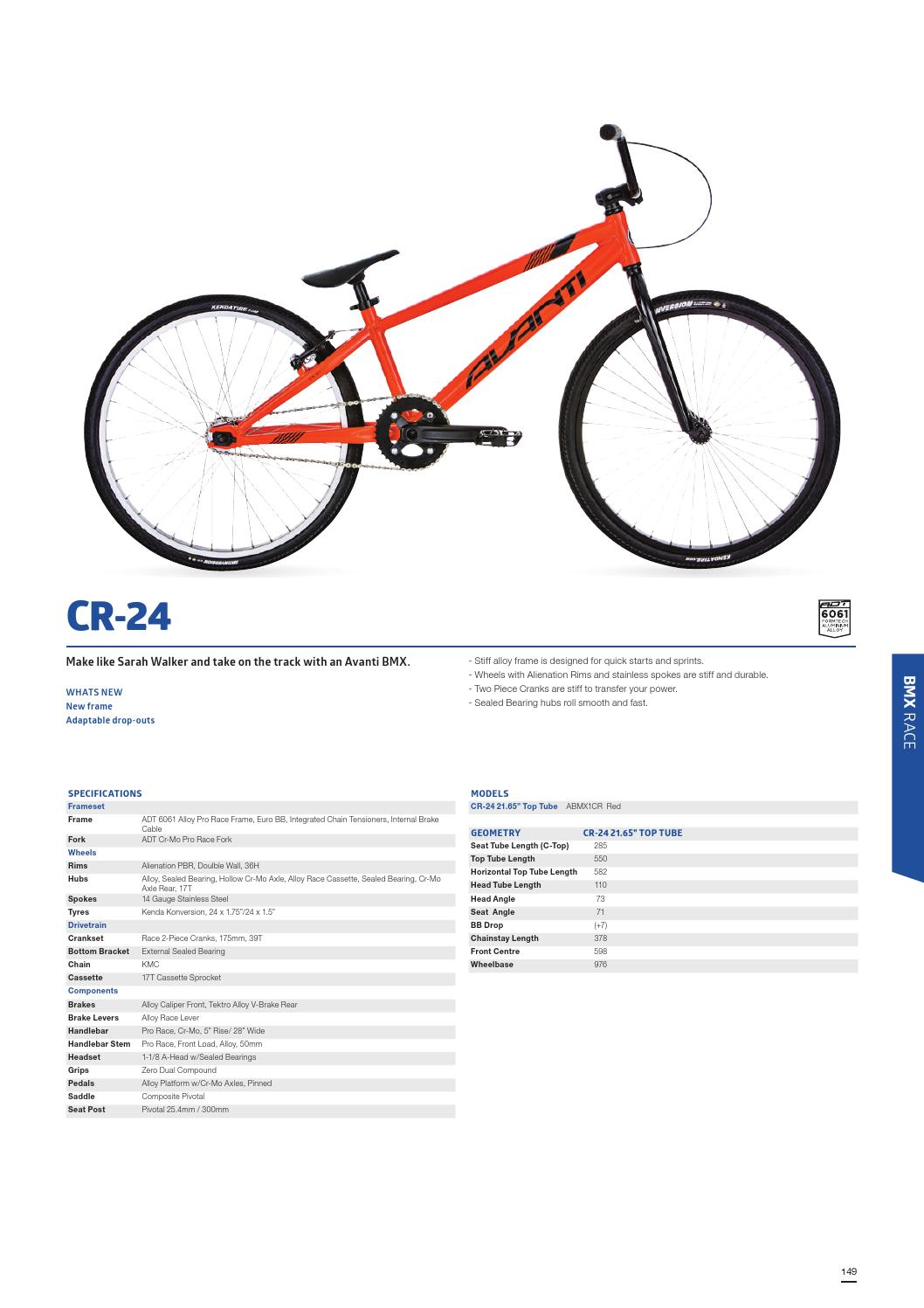 2016 Avanti Dealer Manual by AvantiPlus Cycles - issuu