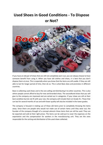 10ff890a87c741 Used shoes germany 1 by Boex - issuu