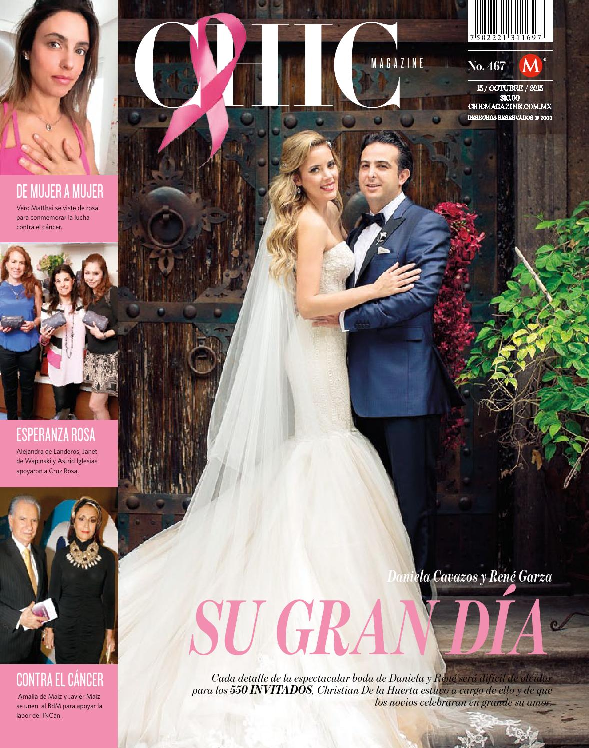 Chic Magazine Monterrey N M 467 15 Oct 2015 By Chic Magazine  # Muebles Lety Cavazos