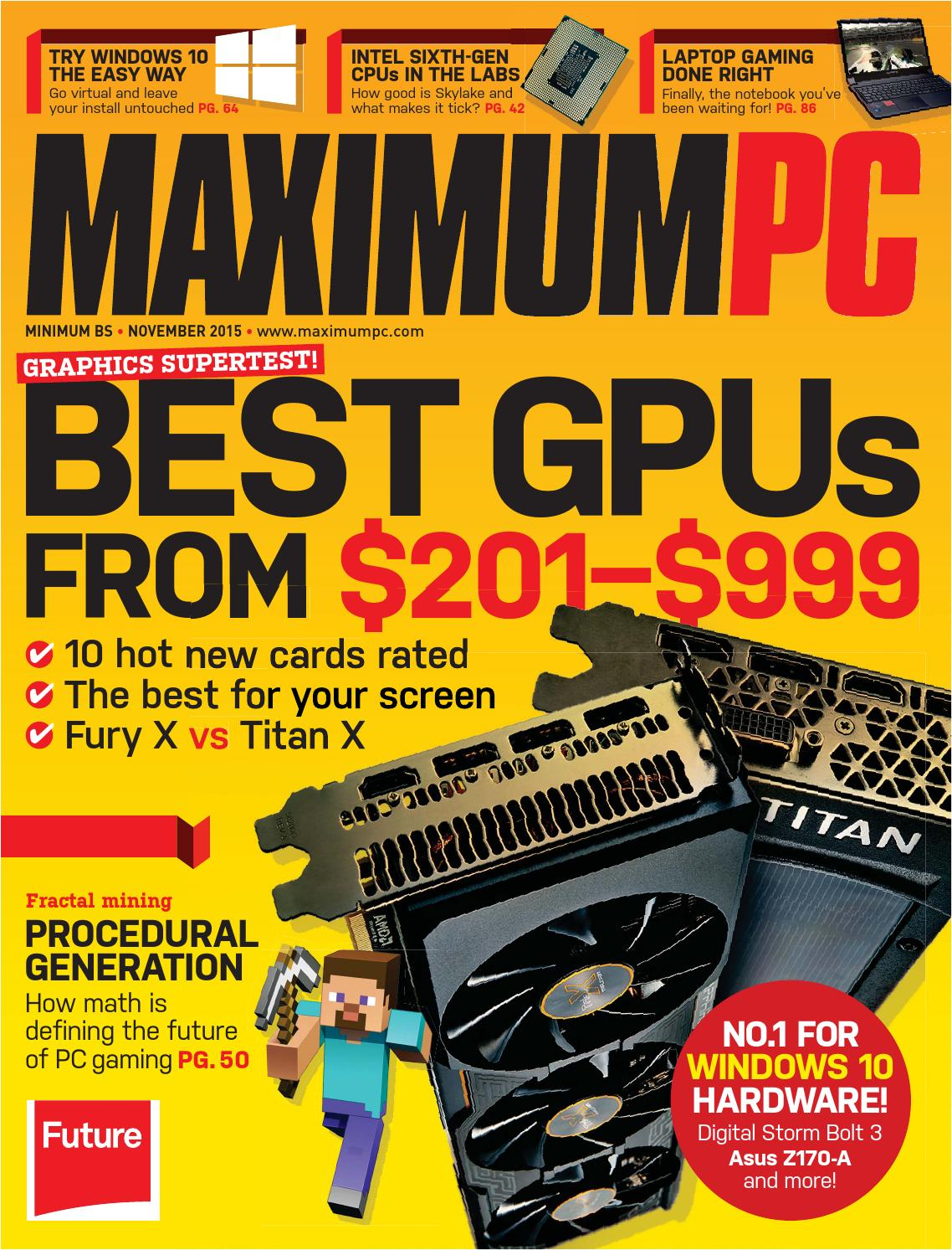 Nthgw4gmaximum Pc November 2015 By Voodersaxc Issuu Download Image Led Strobe Circuit Needs More Current Android