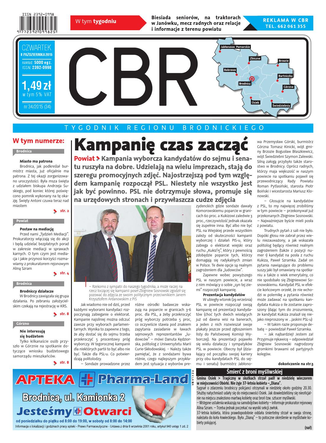 Cbr Nr 34 By Brodnica Cbrpl Issuu