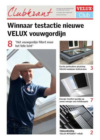 Velux clubkrant 03 2015 by velux nederland b v issuu for Listino velux 2015