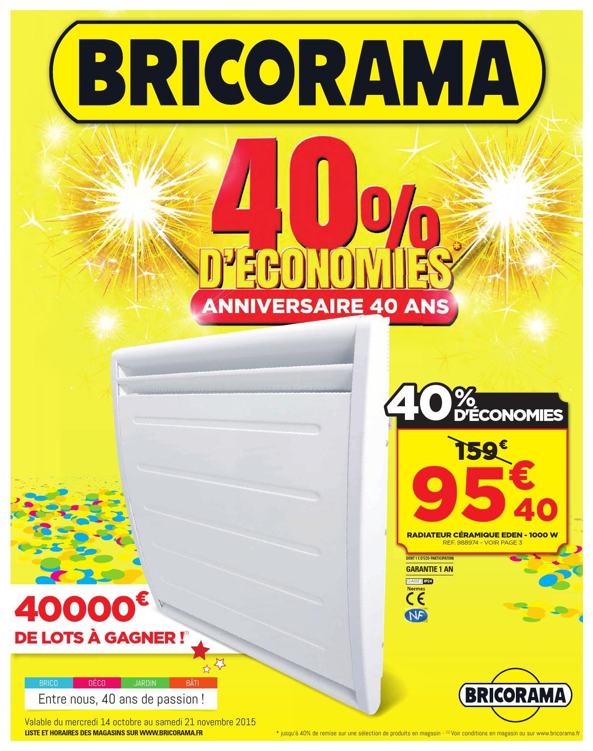 Bricorama Catalogue 14octobre 21novembre2015 By