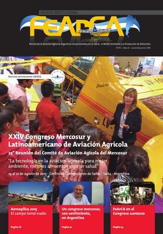 Revista Institucional FeArCA - Edición N° 10