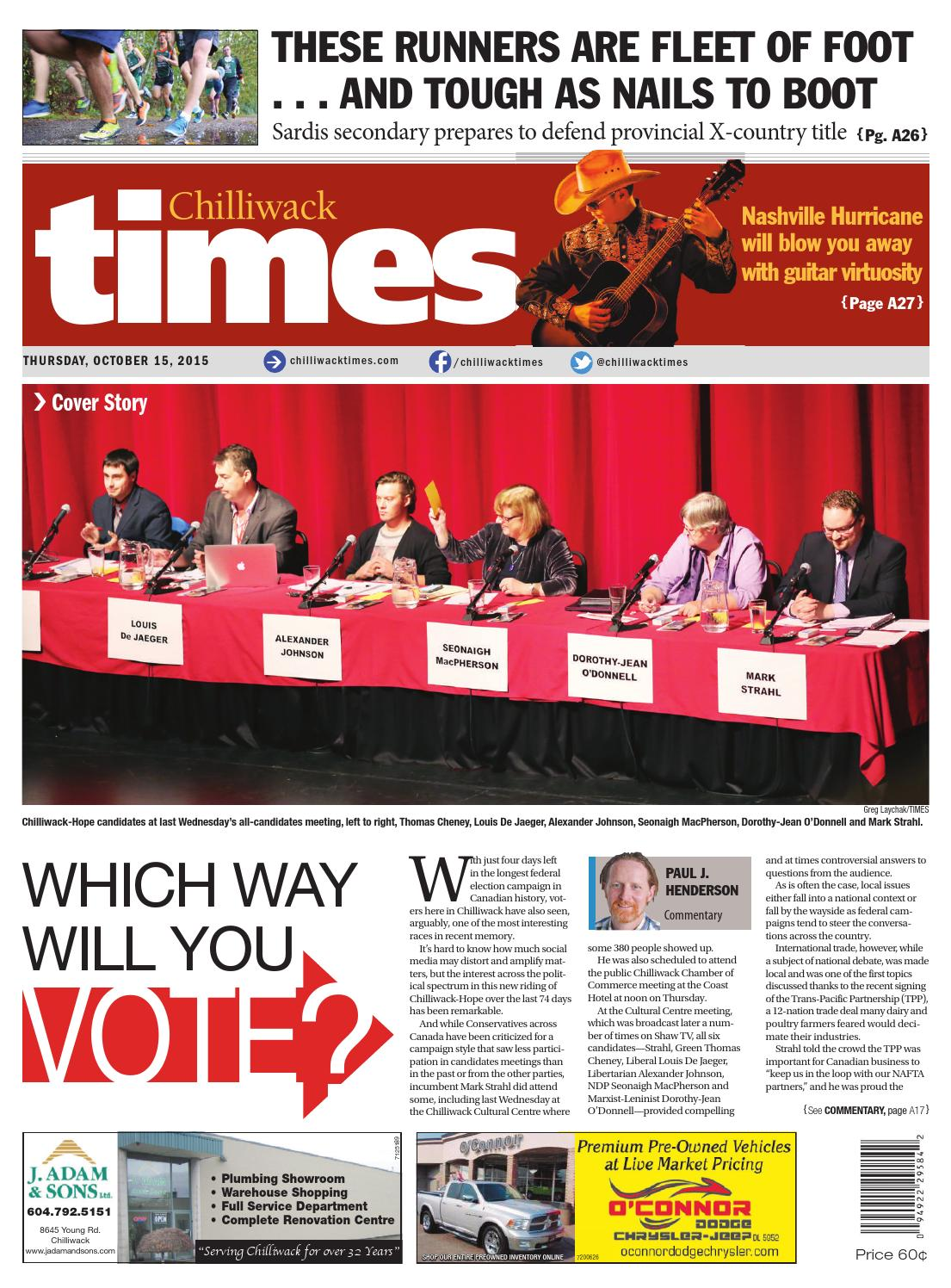 Chilliwack Times October 15 2015 by Chilliwack Times - issuu